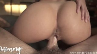 SHE WON'T STOP RIDING AFTER HE CUMS!!